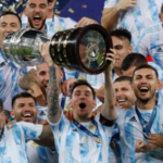 'It's for everyone, and of course for Diego too': Messi dedicates Copa America victory to Argentina and Maradona